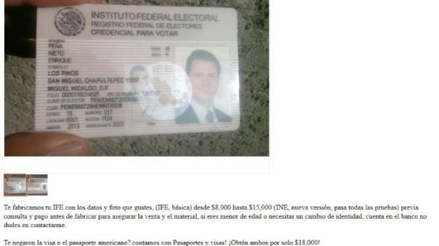 verify mexican ife    ine credencials
